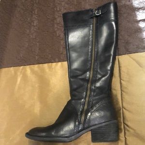 Born Poly Knee Boots Size 8.5M